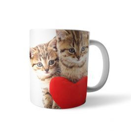 Kubek full print Love cats