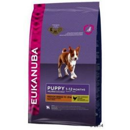 Eukanuba Puppy Medium Breed 18kg (15+3kg gratis)